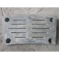 China Mine Mill Aluminum Sand Castings Sliders For Walk Beam Furnace wholesale