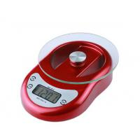 China Cooking Measuring Home Electronic Scale Selectable Color With Over Load Indication wholesale