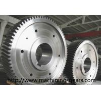 Large Diameter Gears Construction Machinery Parts External Spur Gear