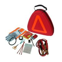 China Deluxe Emergency Road Kit with Reflective Triange Case, item# 1043 wholesale