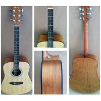 China OEM Classic Catalpa Western Guitar / Vintage Wood Acoustic Guitar For Learners TP-AG53 wholesale