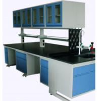 China Full Steel Laboratory Benches And Cabinets , Lab Desk Furniture With Adjustable Shelf wholesale