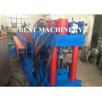 China Metal Building Palisade Fence Panel Post Roll Forming Machine Protective Guard wholesale