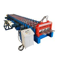 China Metal Plc Control Floor Deck Roll Forming Machine wholesale