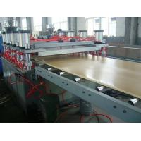 Quality Anti Chemical Corrosion Plastic Board Production Line Crust Foam WPC Board Production Line for sale