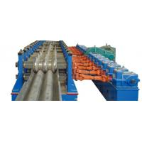 China Baffle Highway W Beam Guardrail Roll Forming Machine Panasonic PLC Automatic Control wholesale