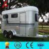 China Galvanized2 horse floats,luxury travel trailer wholesale