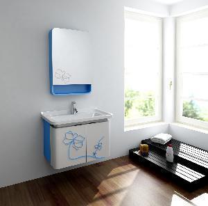 China Wooden Bathroom Cabinet / Solid Wood Bathroom Vanity MJ-197D wholesale