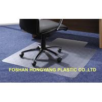 China Antistatic Office Chair Pad / Studded Chair mats , 1200 x 1200 thinckness 2.2 wholesale