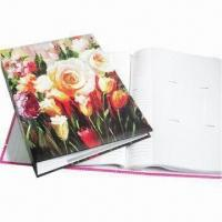 China Slip-in album, with glue bound, available for 300 photos wholesale