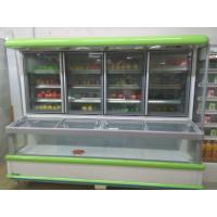 China Supermarket Combination Freezer Cooler / Frozen Display Showcase For Hotel wholesale