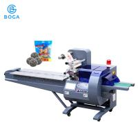 China Auto Pillow Packing Machine / Stainless Steel Scrubber Briquette Chopstick Packing Machine on sale