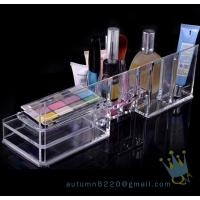 China acrylic cosmetic organizer with drawers wholesale
