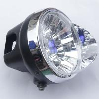 China 12V - 80V Electric Motorcycle LED Headlight / LED Lights For Motorcycles wholesale