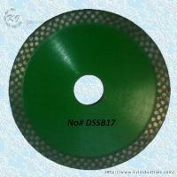China Continuous Rim Diamond Circular Saw Blade - DSSB17 on sale