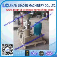 China 200-250kg/h high capactity& high precision&durable peanut butter grinding machine wholesale