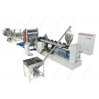 China HDPE Plastic Sheet Extrusion Line , Waterproof Dimpled Drainage Membrane Production Machine wholesale