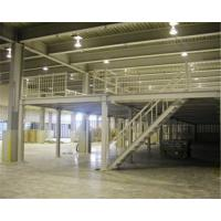 China Structure Warehouse Mezzanine Floor Racking 2 Layer Selective Racking System wholesale
