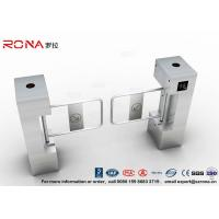 China RFID Biometric Swing Barrier Gate , Bank Bridge Access Control Turnstile wholesale