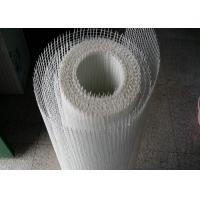 China White Fiberglass Reinforcing Mesh Alkaline Resistant 160gr 4 * 4 / 5 * 5 for Wall wholesale