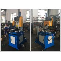 China Custom Semi Automatic Pipe Cutting Machine Two Way Clamps Low Noise Low Pollution wholesale