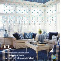 China CU132 Crystal Handsome Pvc Sheet Curtain wholesale