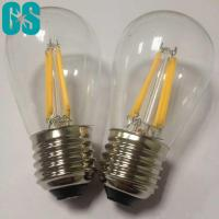 China S14 Type Filament LED Bulb 2W 4W E26 E27 B22 High Brightness CE Approval wholesale