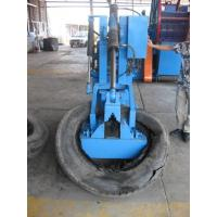 China Car Tire Cutting Machine , Tire Bead Machine 7 . 5 Kw Hydraulic System wholesale
