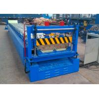 China Screwless Roof Panel Roll Forming Machine, Concealed Fix Roofing Sheet Roll Forming Line wholesale