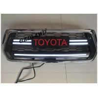 China Chrome Front Grill Mesh For 2018 Toyota Hilux Revo Rocco With LED Turning Lights wholesale