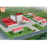 China With Steel Structure Design 20T/H Livestock Animal Feed Production Line wholesale