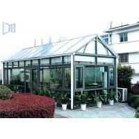 China DIY Design Aluminium Frame Greenhouse Thermal Break Insulation System wholesale