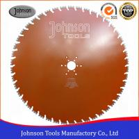 China Double U Shaped Segmented Diamond Saw Blade For Dry / Wet Cutting wholesale