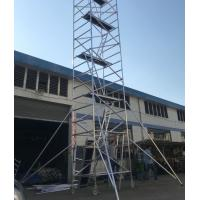 Buy cheap 8m 9m 10m Construction 950kgs Loading Building Mobile Aluminium Frame Scaffold from wholesalers