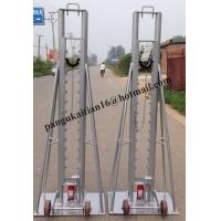 Quality Cable drum trestles, made of cast iron,Jack towers,Cable Drum Lifting Jacks for sale