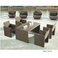 Quality wicker furniture bar set-8312 for sale