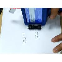 Industrial Glass Expiry Date Bottle Coding Machine , Automatic Ink Marking Machine