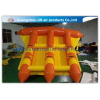 China Pvc Water Sports Toy Towable Inflatable Flyfish Boa Air Inflatable Flying Fish wholesale