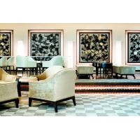 China Fabric Chair Hotel Lobby Furniture With Lobby Uphostery Cushion Sofa Set wholesale
