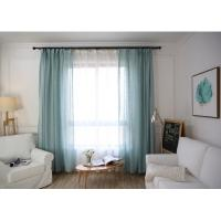 China Home / Hotel Modern Window Curtains Multiple Colors Lightweight For Bedroom wholesale