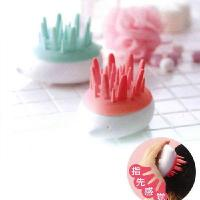 China Hedgehog modeling bath shampoo massage brush random color wholesale