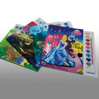 China Cartoons Painting Softcover custom coloring book printing Service wholesale
