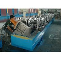 China Half Round Water down Gutter Profile Cold Roll Forming Machine wholesale