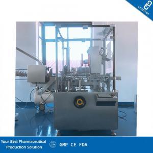 China Vertical Interval Auto Cartoner Machine Pharmaceutical Blister Sachet Bottle Tube on sale