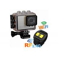 Quality Full HD Digital Underwater Sports Camera 30M Waterproof with Built in WIFI 1920 x 1080 P for sale
