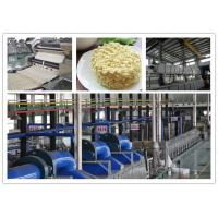 China hot air drying noodle Non-Fried Instant Noodle Machinery Production Line without oil wholesale