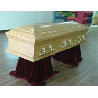 China Cremation Casket With Swing Bars , Full Couch USA Style Eco Coffin Cardboard wholesale