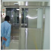 China ISO 7 Energy Efficient Stainless Steel Air Shower Room With Automatic Slid Door wholesale