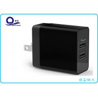 China 17W 2-Ports USB Travel Adapter Smart Charger with Compact Design for Traveller wholesale