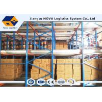 China Heavy Duty Selective Shuttle Pallet Racking for Warehouse Storage Shelving wholesale